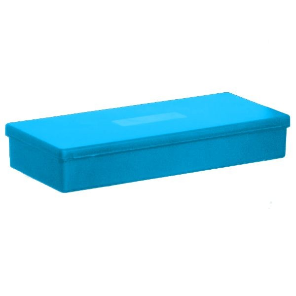 BLUE - Polypropylene box carrier for belt delivery system