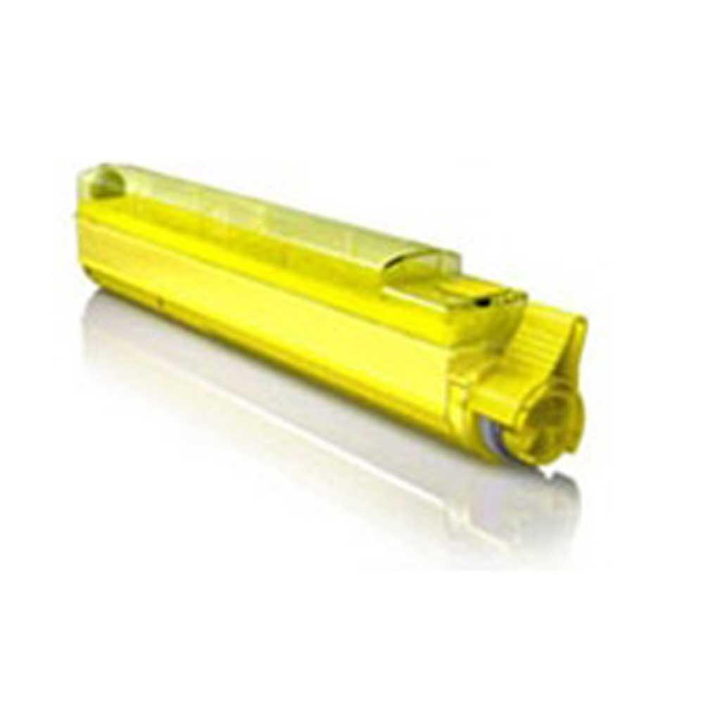 Okidata Toner Cartridge - Yellow - Compatible - OEM 42918901