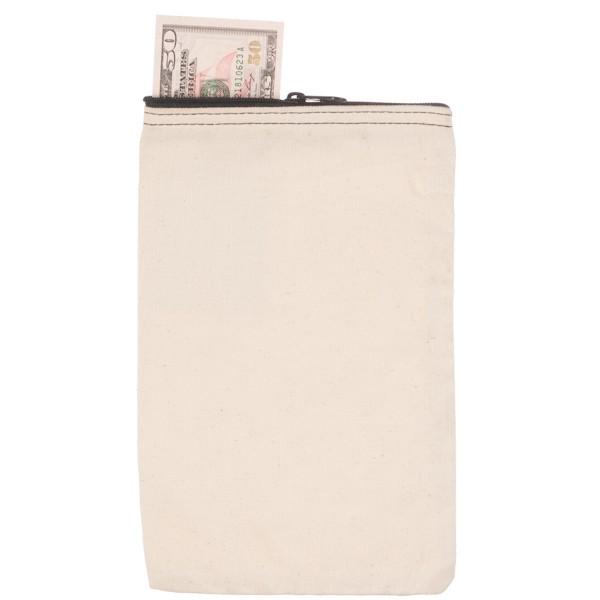6-1/2W x 10H Vertical Zipper Bags - Made to Order
