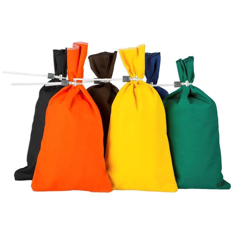 9W x 17-1/2H Slot Drop Bags (25/bx)