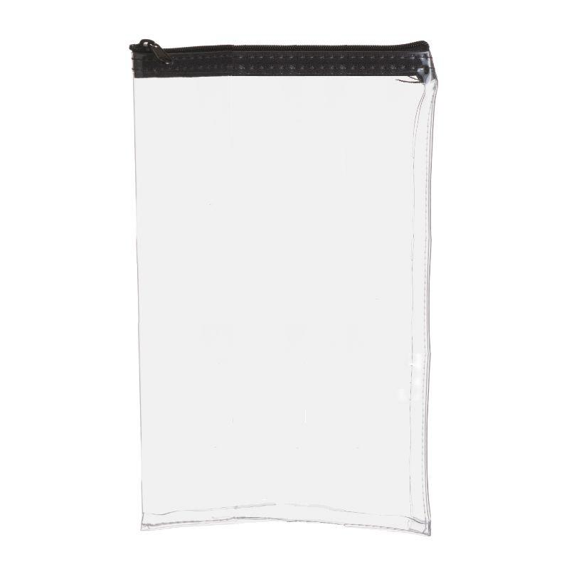 7W x 11H Clear Vinyl Vertical Zipper Bag - Made to Order