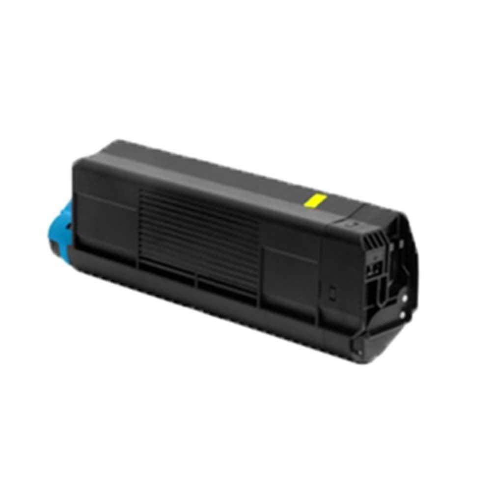 Oki-Okidata Toner Cartridge - Yellow - Compatible - OEM 44315301