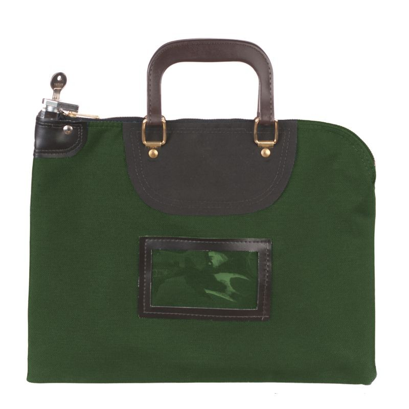 16W x 12H Fire Resistant Locking Bag - Made to Order