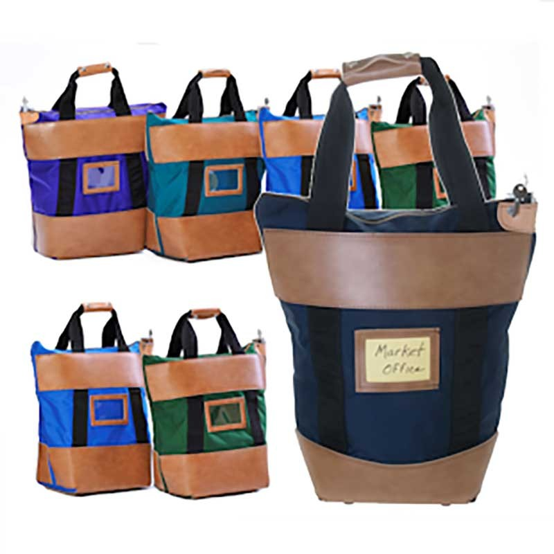 9W x 18H x 7D Courier Bag - Made to Order