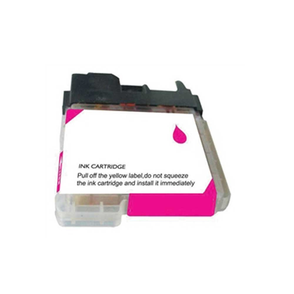 Brother Toner Cartridge - Magenta - Compatible - OEM LC61M