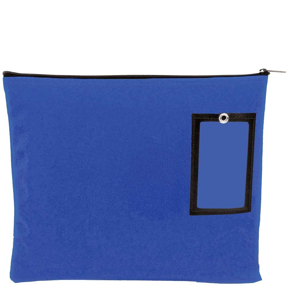 Royal Blue 1000D Nylon Zipper Bags - 14W x 11