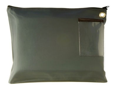 Forest Green 14Wx11H Large Zipper Bag