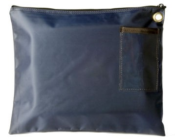 Navy Blue 14Wx11H Large Zipper Bag