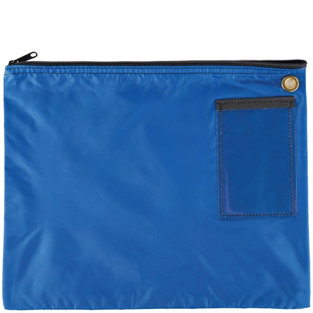 Royal Blue 200D Nylon Zipper Bags - 18W x 14H