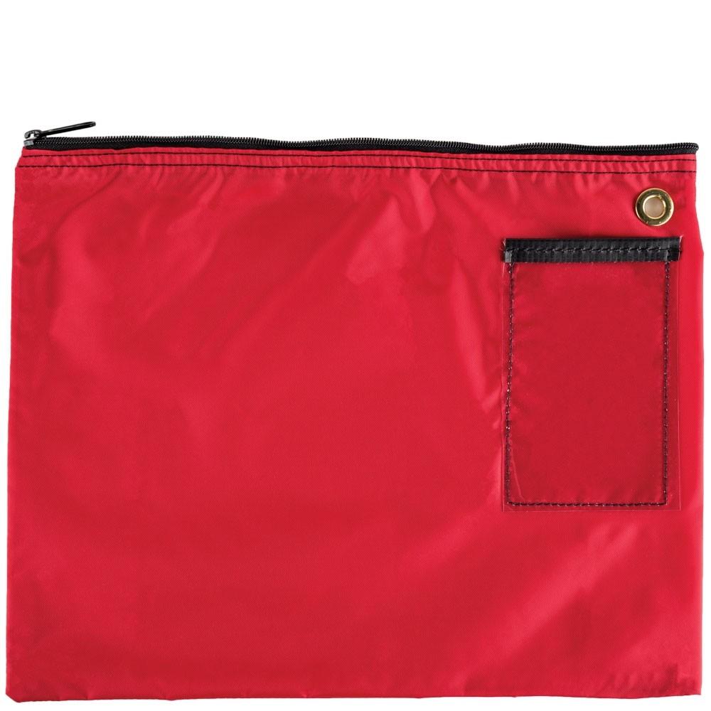 Red 200D Nylon Zipper Bags - 18W x 14H