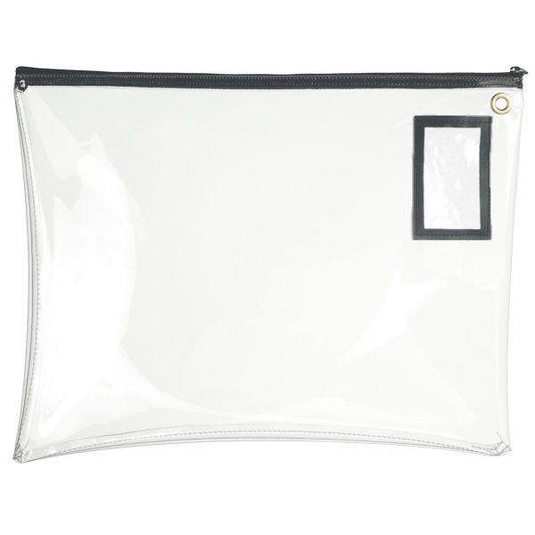 Clear Vinyl 22Wx16H Large Zipper Bag