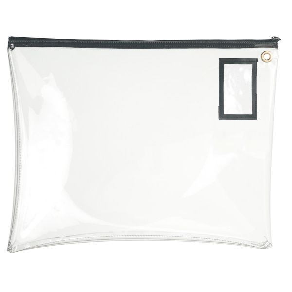 Clear Vinyl 22Wx19H Large Zipper Bag