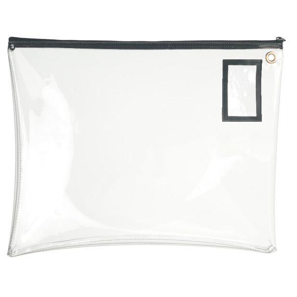 Clear Vinyl 22Wx19H Large Zipper Bag