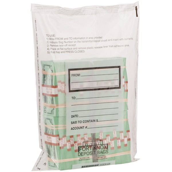 Currency Bundle Bags - 4 Bundle - E Bag - 50/pack
