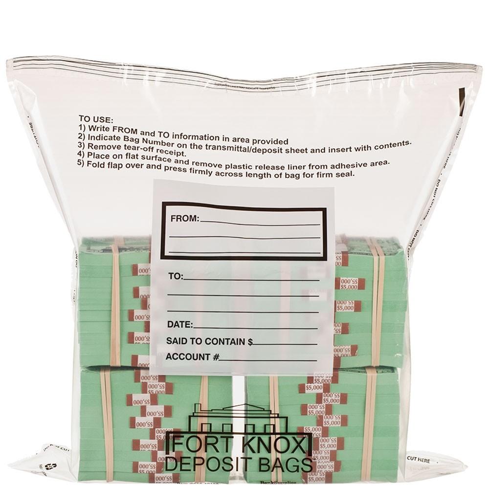 Currency Bundle Bags - 8 Bundle - F Bag - 100/case