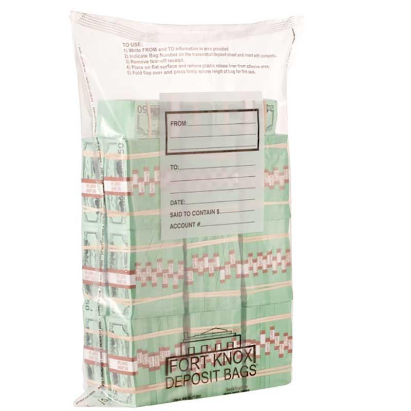 Currency Bundle Bags - 20 Bundle - J Bag - 250/case