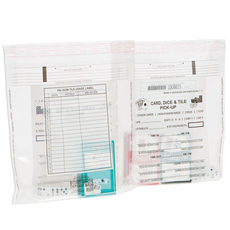 9-1/2W x 9H Card, Dice & Tile Bags