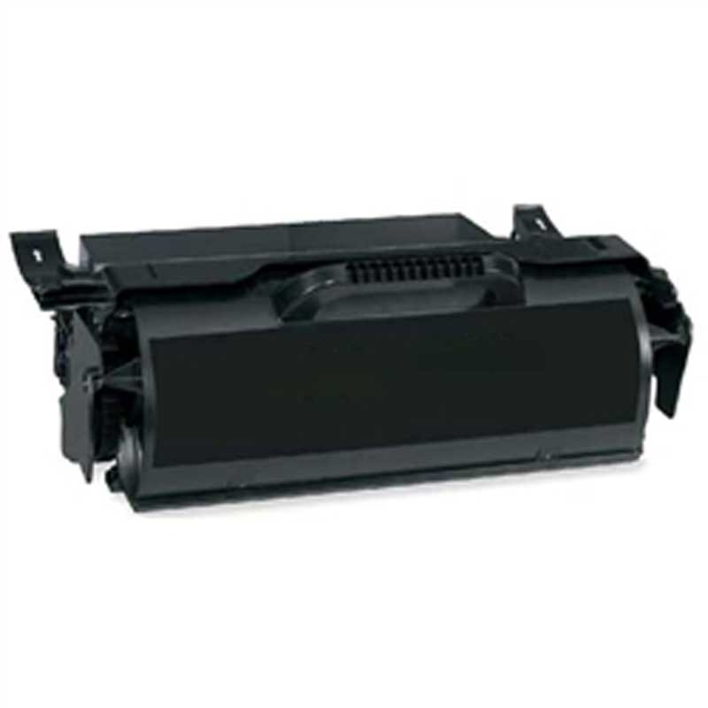 Lexmark MICR Toner Cartridge - Black - Compatible - OEM X651H21A