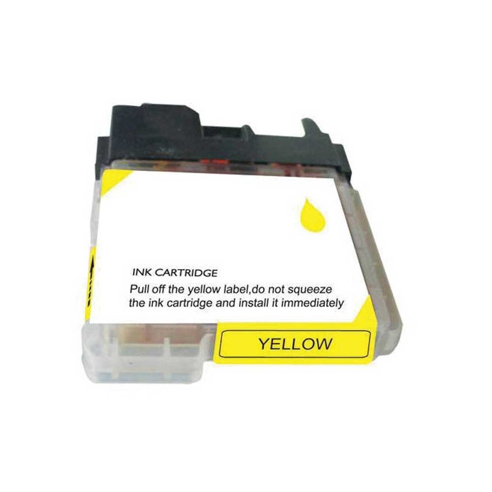 Brother Ink Cartridge - Yellow - Compatible - OEM LC65Y