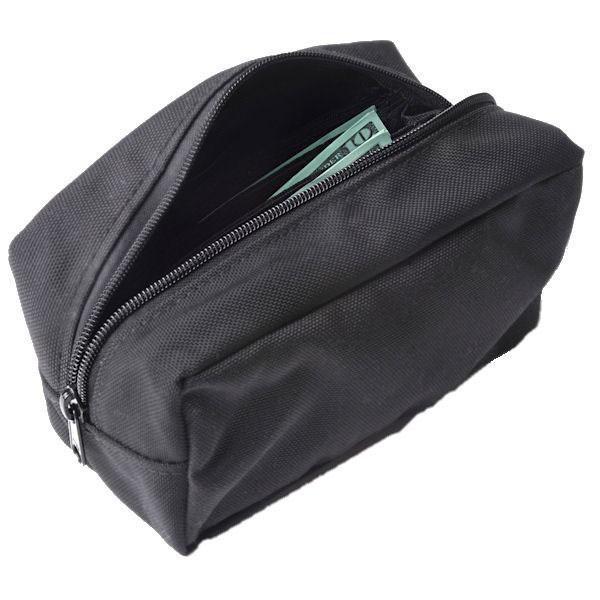 8W x 4-1/4H x 4D Standard Belt Bag w/Zippered Pocket - Stock