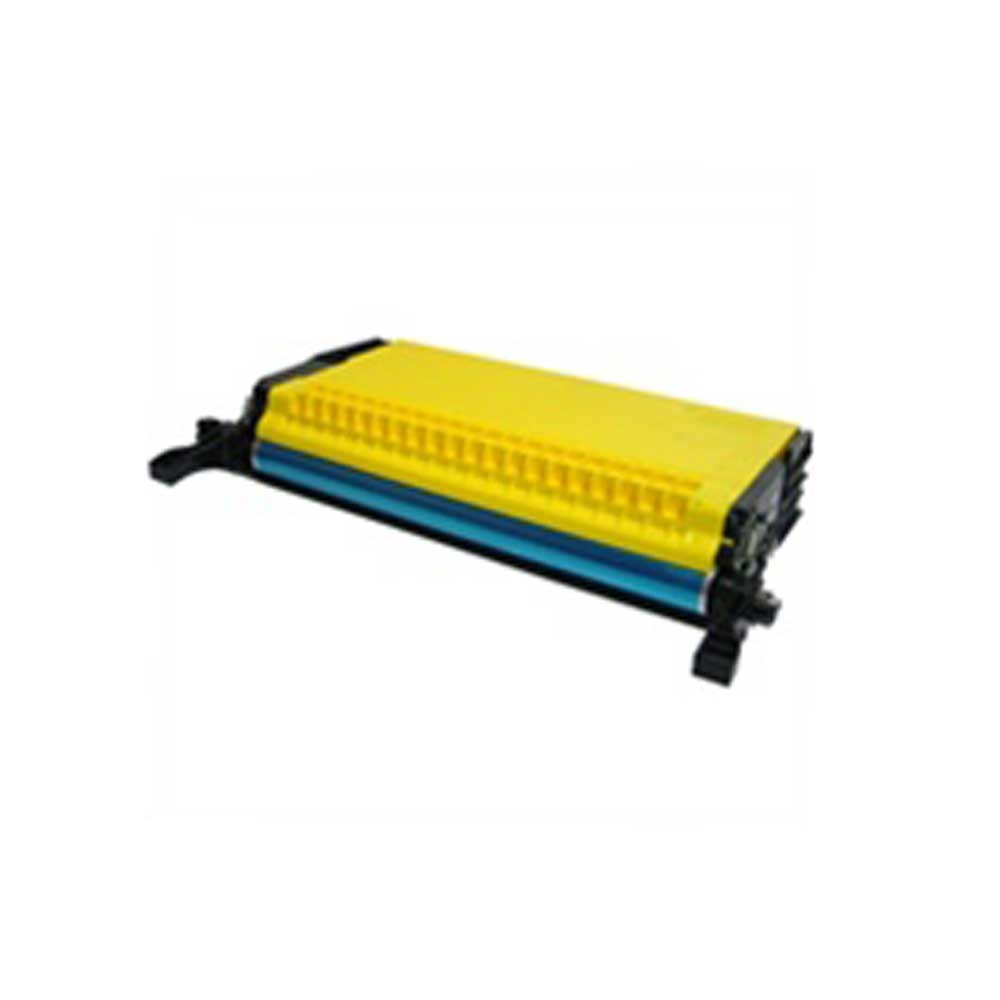 Samsung Toner Cartridge - Yellow - Compatible - OEM CLP-Y660B