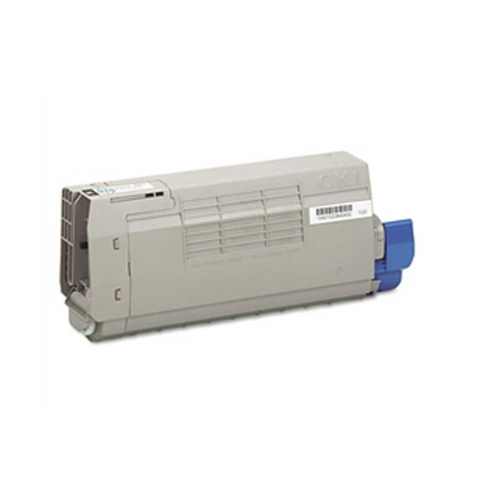Oki-Okidata Toner Cartridge - Cyan - Compatible - OEM 44318603