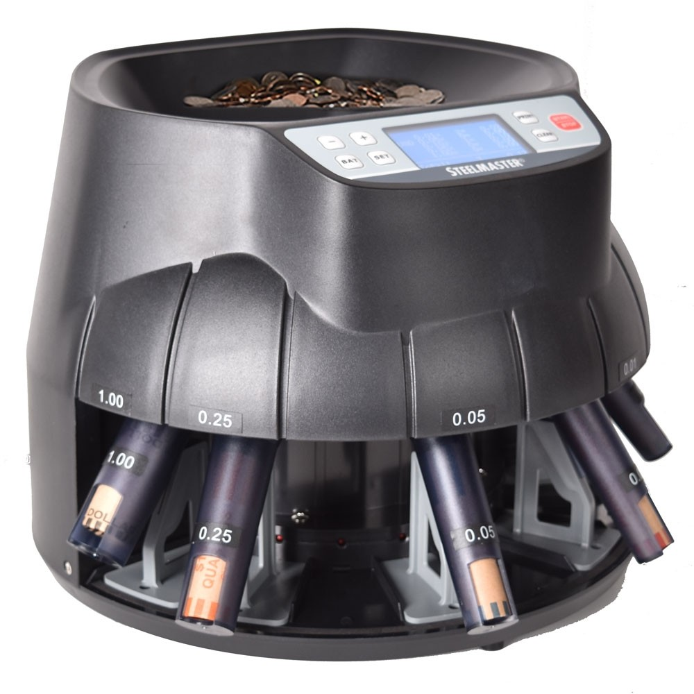SteelMaster Coin Counter/Sorter All-in-one machine