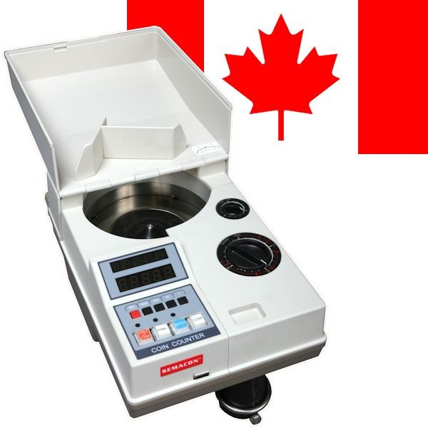 Semacon S-120 Canadian Coin Counter