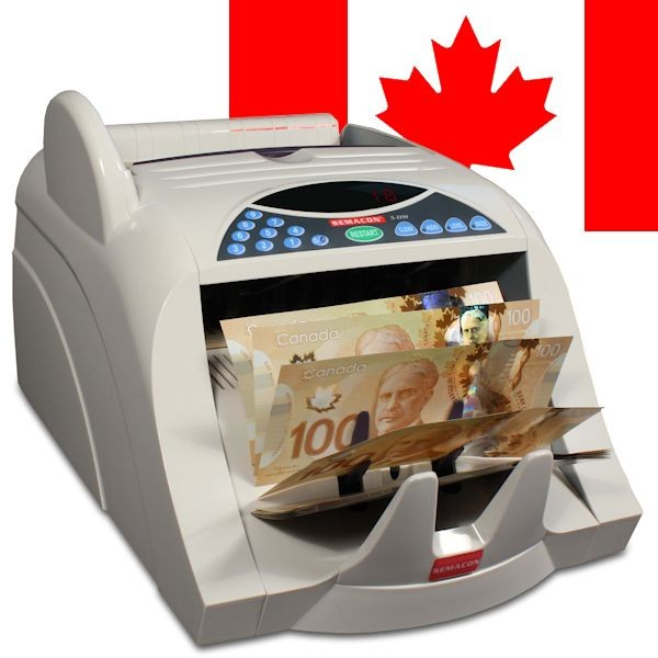 Semacon S-1100 Canadian Currency Counter