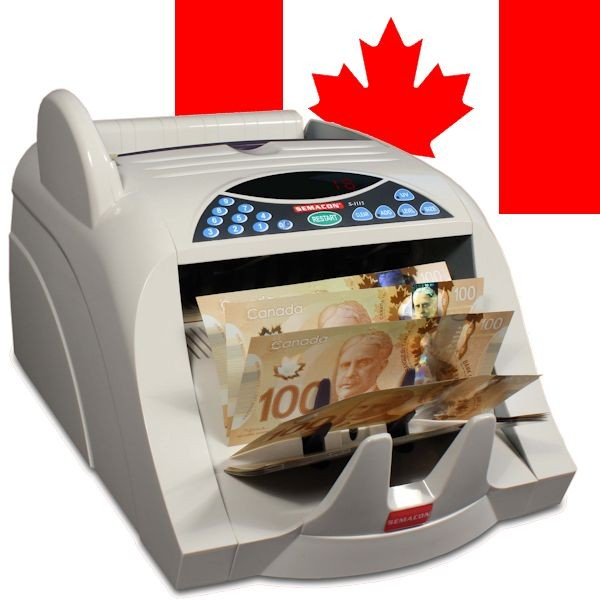 Semacon S-1115 Canadian Currency Counter