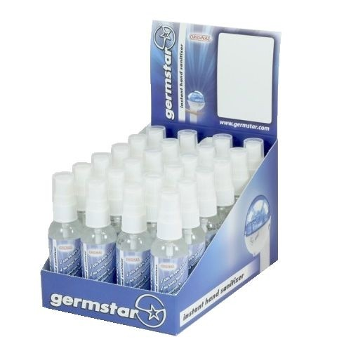 Germstar 2oz Spray Bottles - Countertop Retail Display