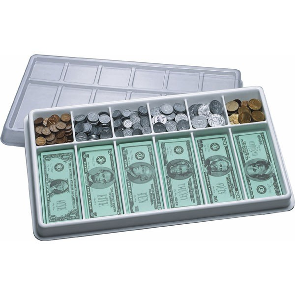 Play Money Kit - Realistic Coin and Bills