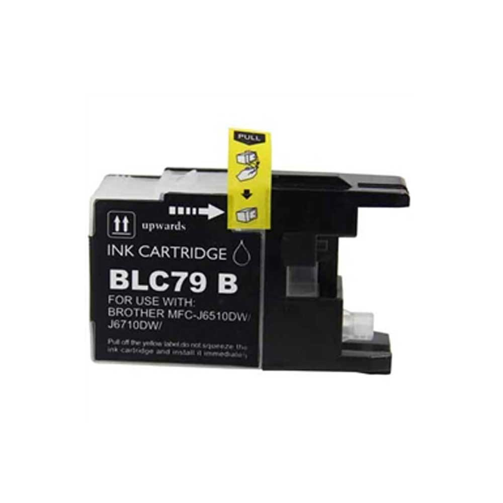 Brother Toner Cartridge - Black - Compatible - OEM LC79BK