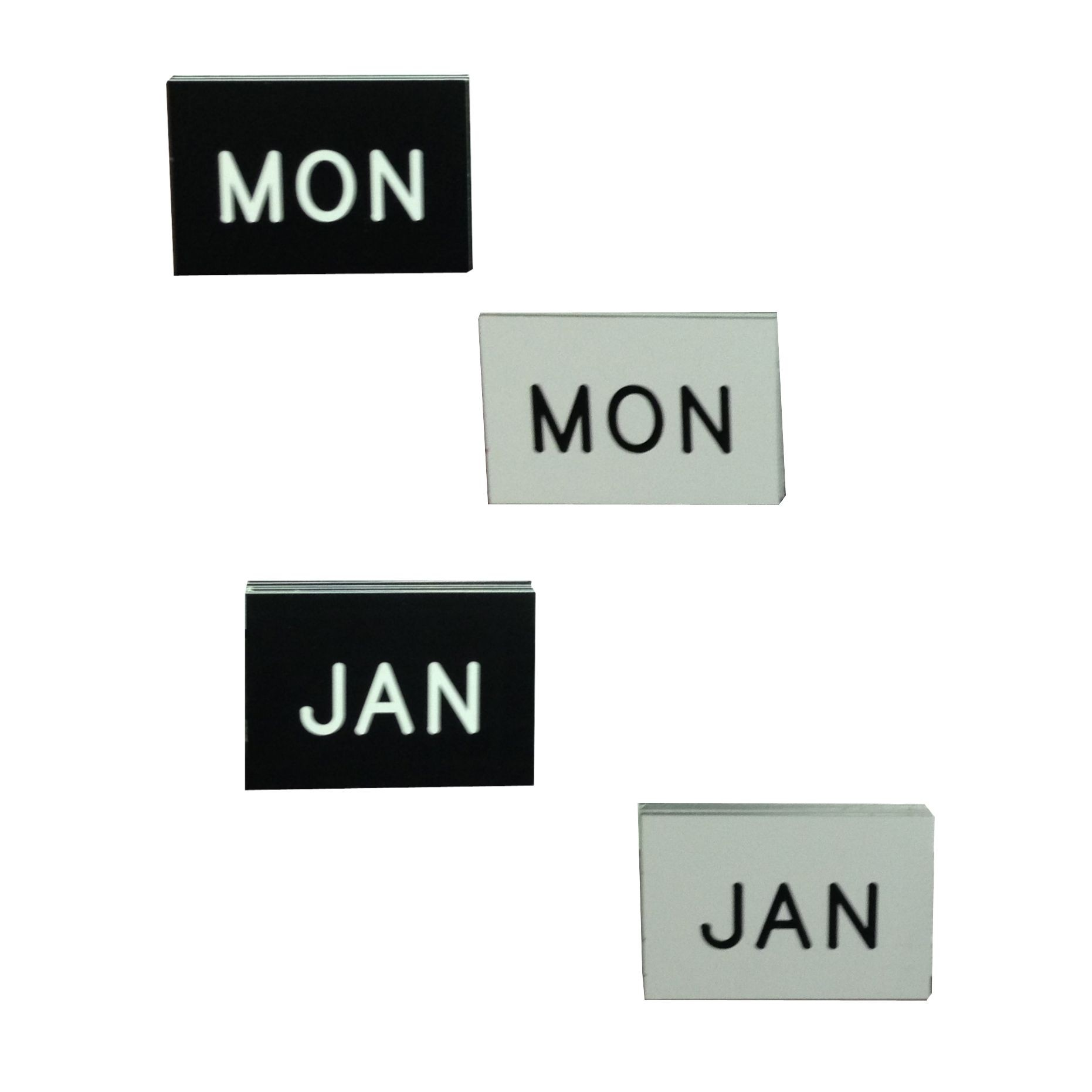 Individual Tile for Perpetual Calendars