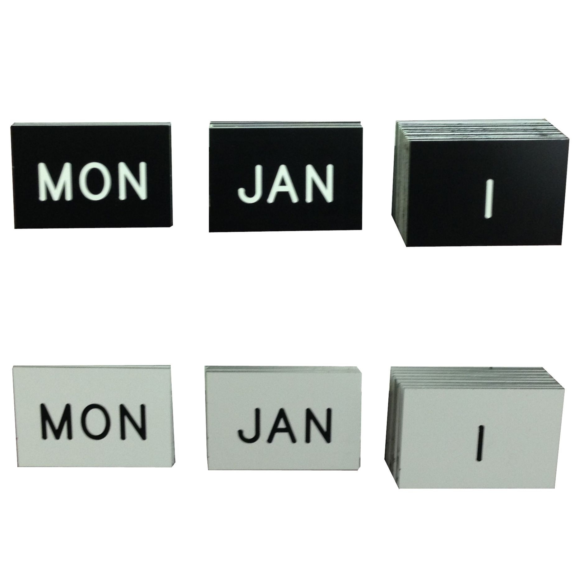 Complete Set of Insert refills for Perpetual Calendars