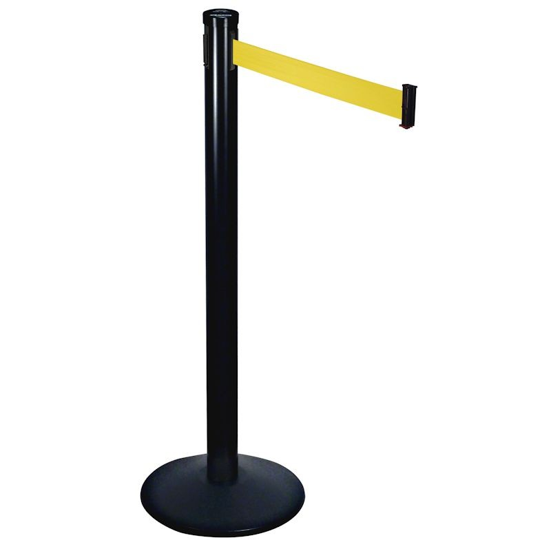 Retractable Belt Stanchions with Sloped Base
