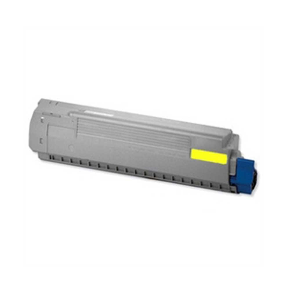 Oki-Okidata Toner Cartridge - Yellow - Compatible - OEM 44059109
