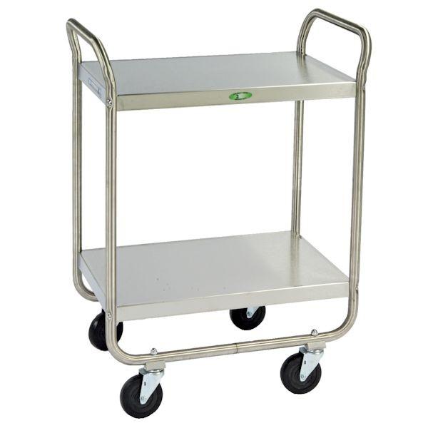 Tubular Design Utility Cart - 17-1/2W x 35-3/4H x 27L