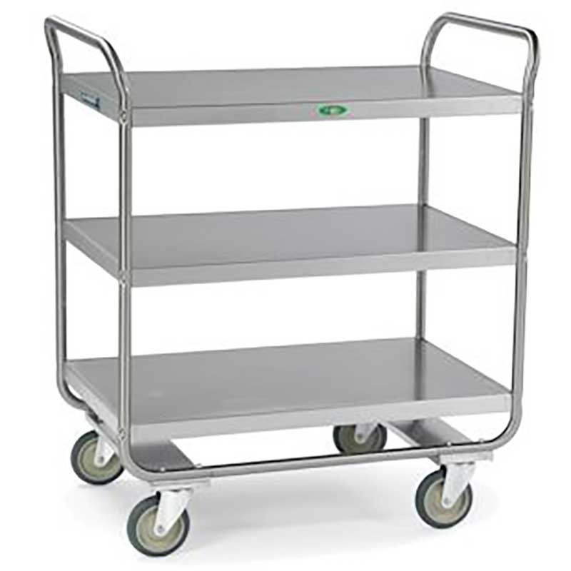 Tubular Design Utility Cart - 22W x 40-5/8H x 36L