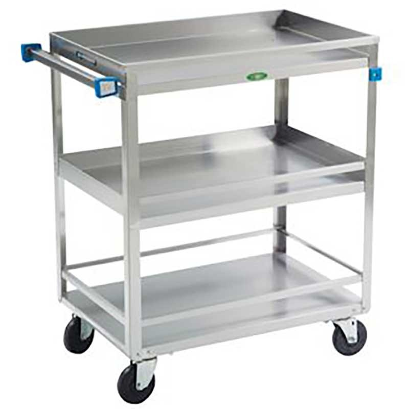 Guard Rail Utility Cart - 500 lbs Capacity - 19W x 34-3/4H x 31L