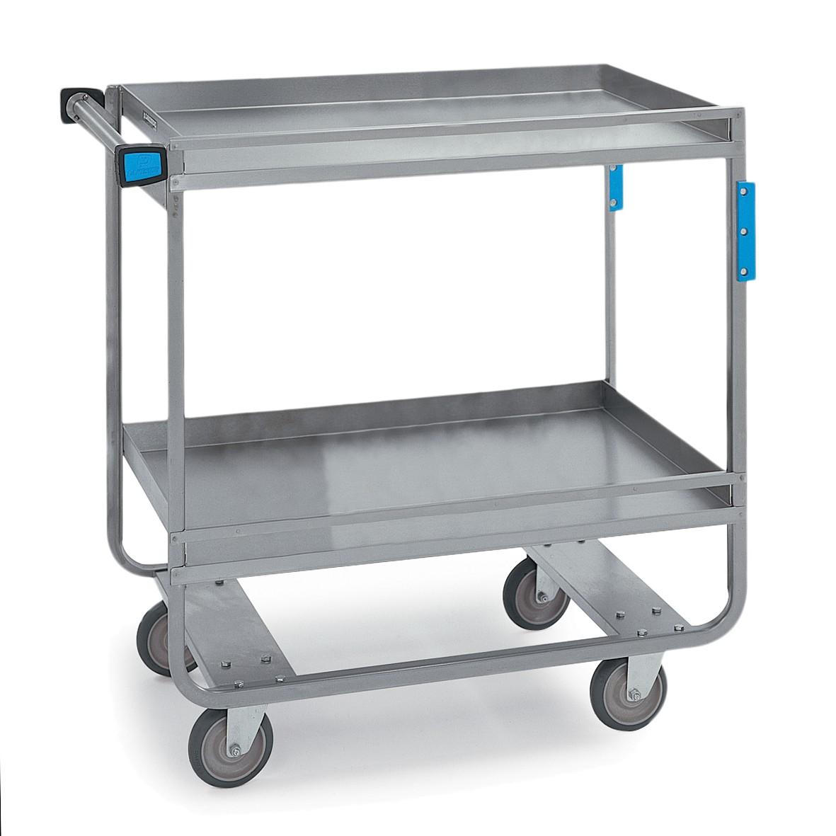 Guard Rail Utility Cart - 700 lbs Capacity - 19-3/8W x 34-1/2H x 32-5/8L