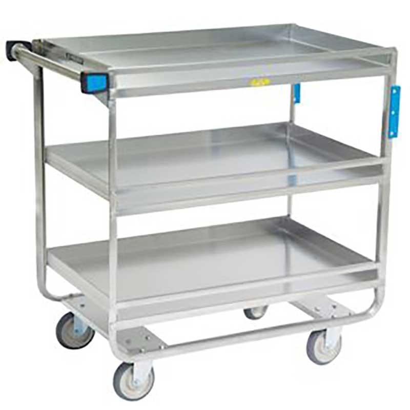 Guard Rail Utility Cart - 700 lbs Capacity - 22-3/8W x 37-1/4H x 38-5/8L