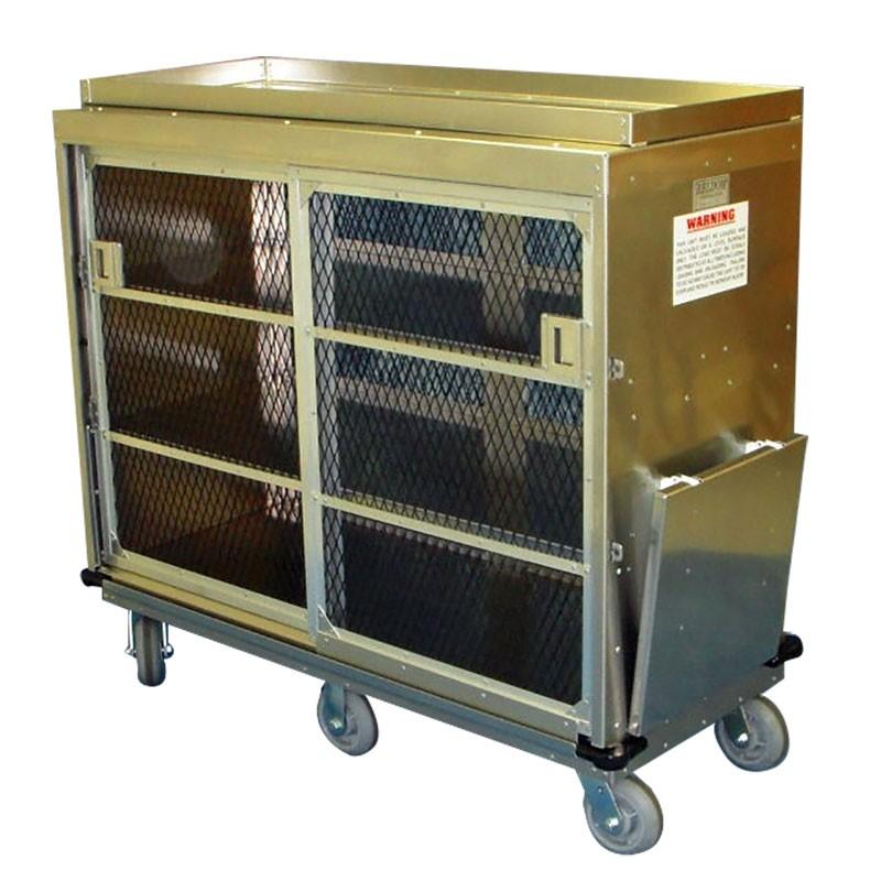 Kiosk Redemption Cart - 23.8W x 50H x 52.36L