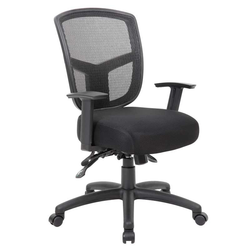 Premium Multi-Function Mesh-Back Task Chair