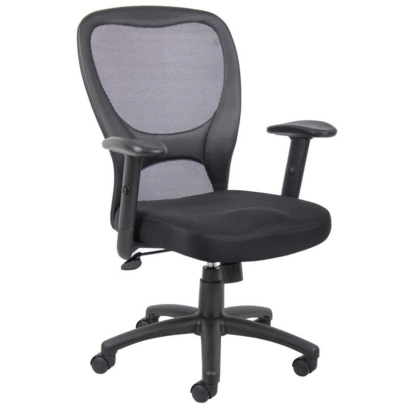 Mesh-Back Task Chair