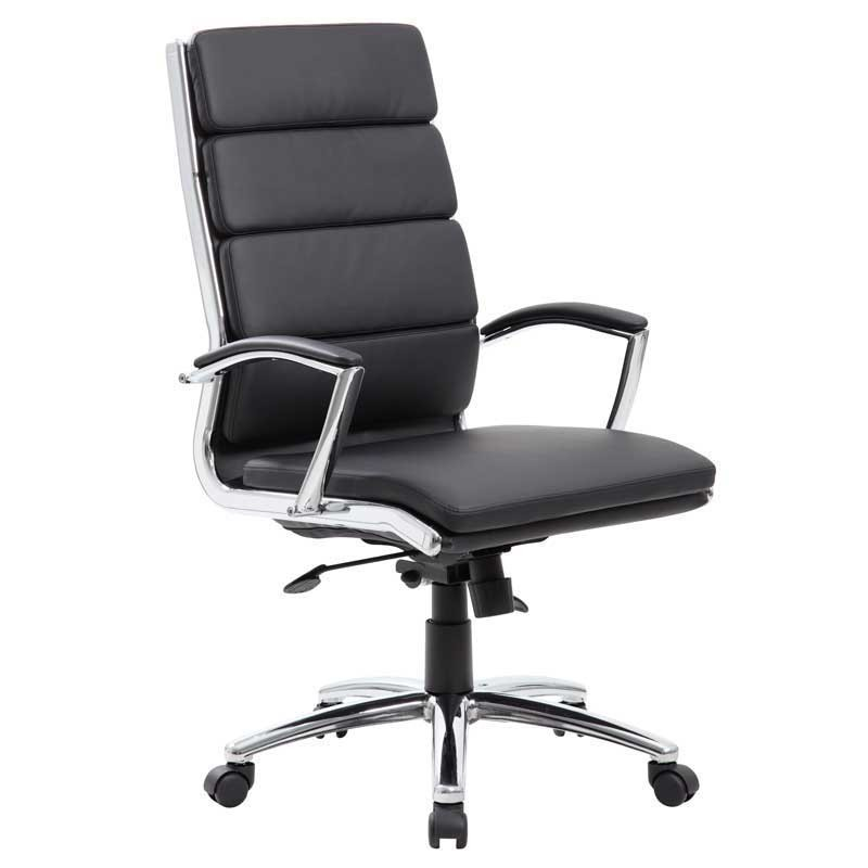 Vinyl High-Back Executive Chair