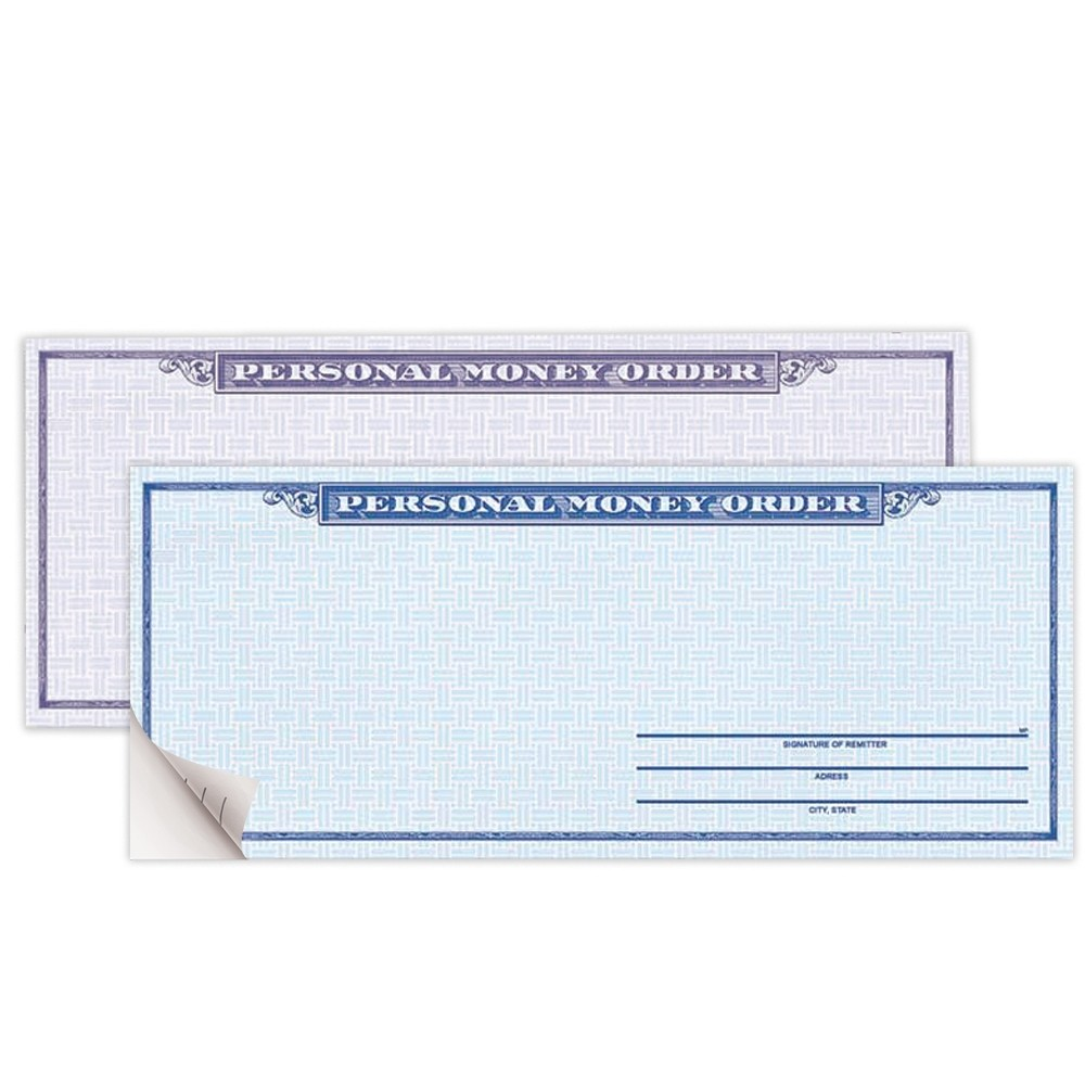 Personal Money Order - 2-Part