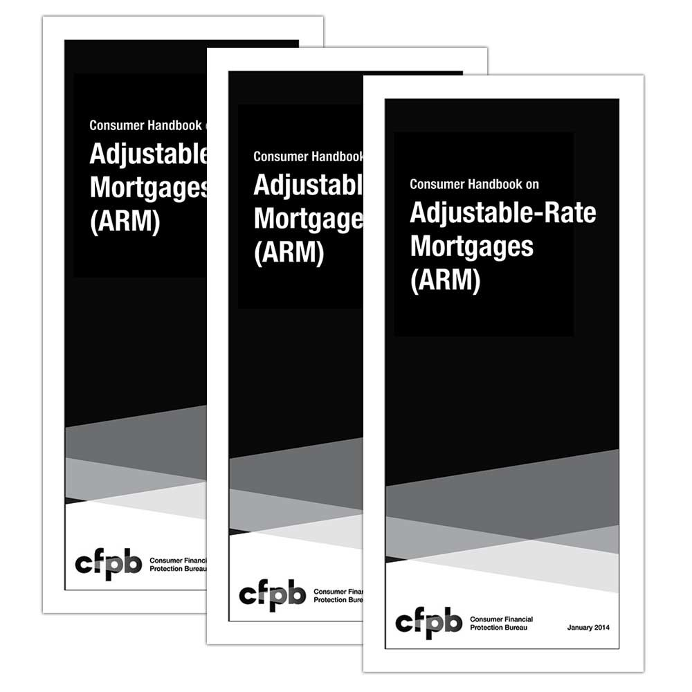 Consumer Handbook on Adjustable Rate Mortgages (CHARM) Mortgage Booklets