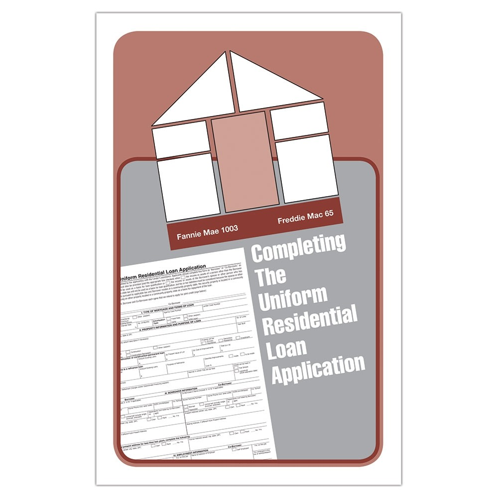 Uniform Residential Loan Application Booklet (URLA)