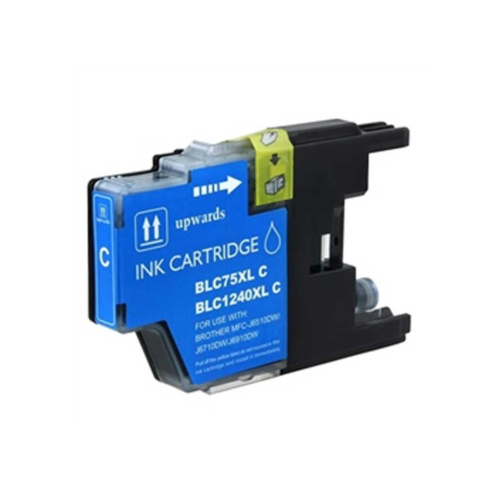 Brother Ink Cartridge - Cyan - Compatible - OEM LC75C